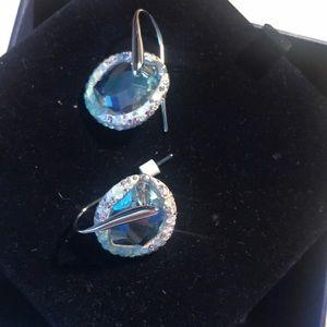 Pastel Swarovski earrings